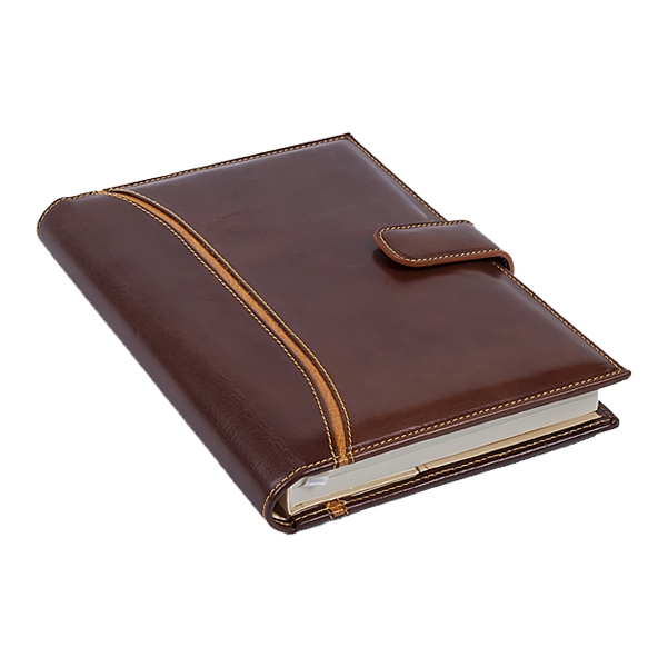 Agenda Brown cognac