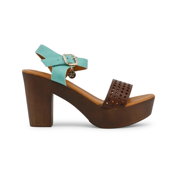 Sandale Enrico Coveri, Calf Mint - C10008