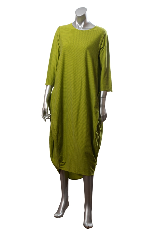 Rochie oversize Wendy Trendy, verde lime