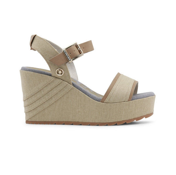 U.S. Polo Wedges SAND