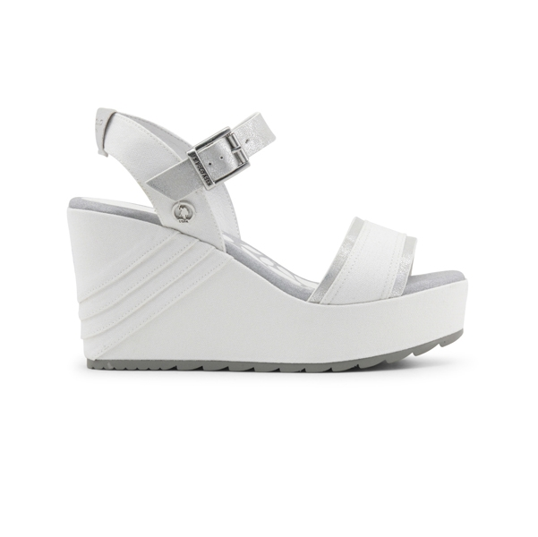 U.S. Polo Wedges White