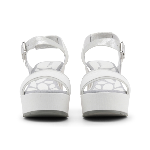 U.S. Polo Wedges White 3