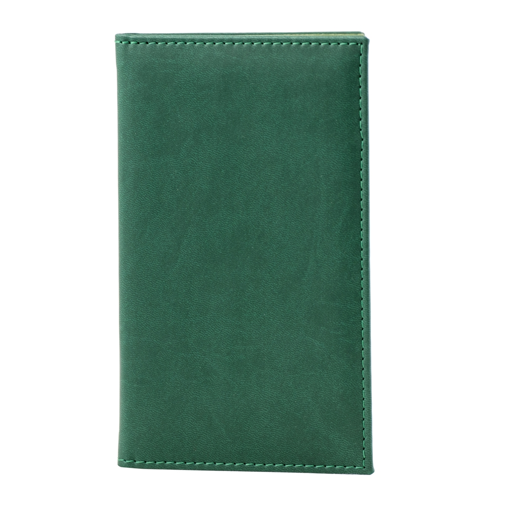 Notă de plată SoftLeather verde 2020